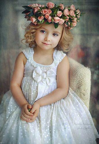 Garden Of Roses Crown Beautiful Children Precious