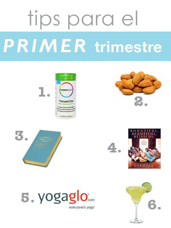 tips para el primer trimestre de embarazo - vitaminas prenatales, libros de embarazo, yoga prenatal