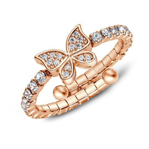 Butterfly Adjustable Ring – Hotsy Totsy