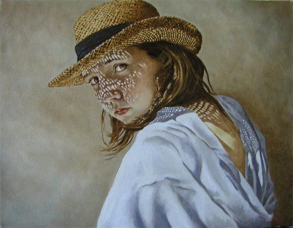 The Straw Hat by Laura den Hertog on ARTwanted