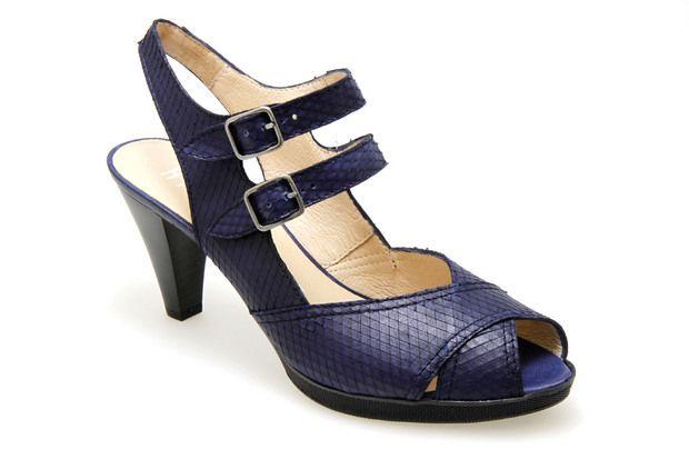 Nu-pieds HISPANITAS 25635 Bleu - Chaussures femme