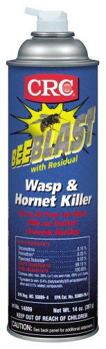 CRC Bee Blast with Residual Wasp and Hornet Killer -- Read more  at the image link.