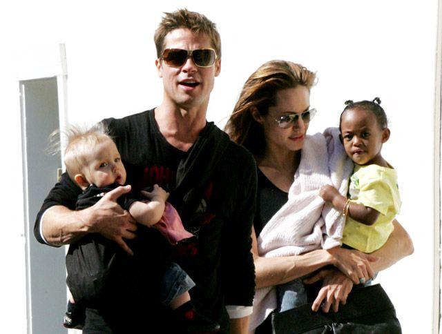 Brad Pitt and Angelina Jolie: How Their Love Has Evolved Since 2005: February 2007