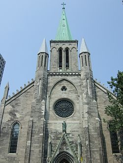 St. Patrick's Basilica, Montreal - Wikipedia, the free encyclopedia