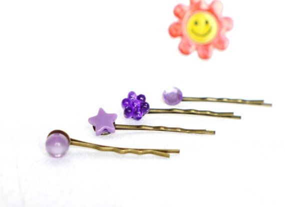 Haarclips Haarspangen Haar Accessoire Haar Spangen von LonasART