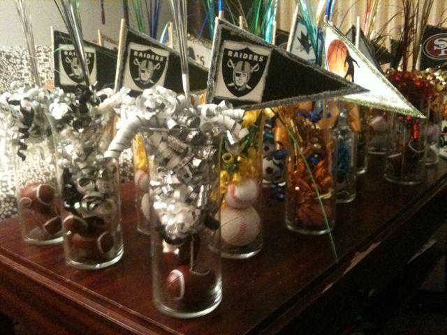 Sports theme party favors