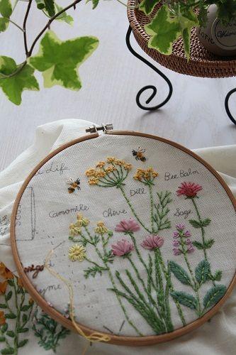In House Gardening! 刺繍
