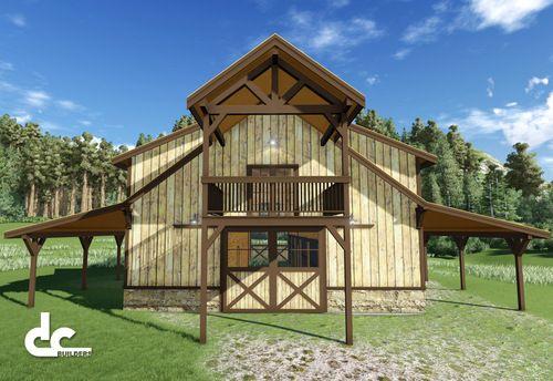 Barndominium floor plans metal building floor plans with for 40x50 pole barn