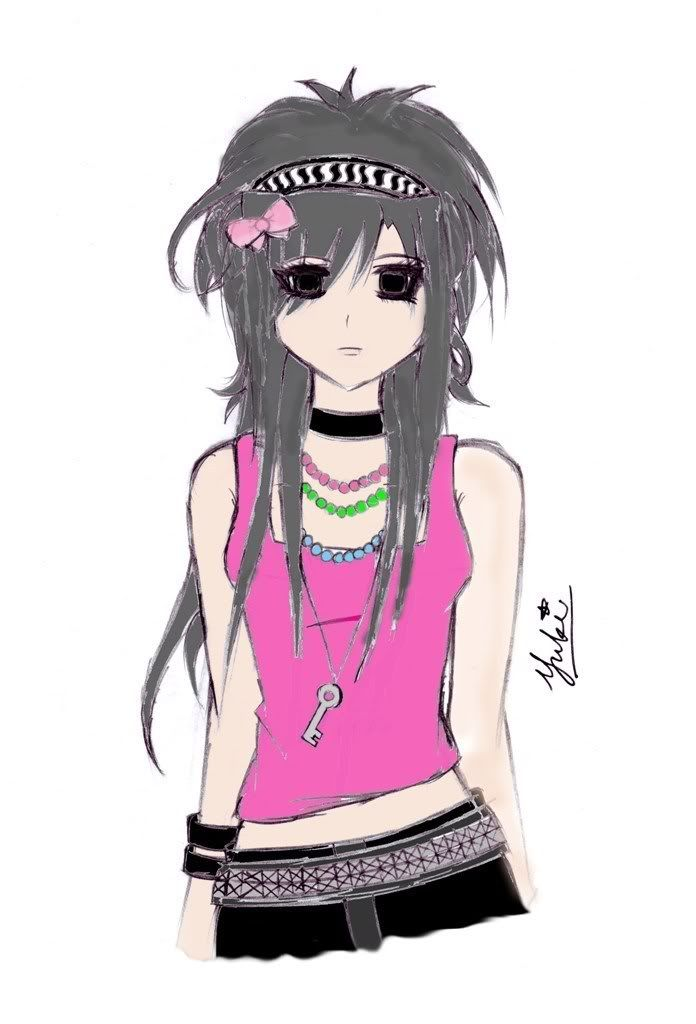Best 25+ Emo anime girl ideas only on Pinterest Gothic - Emo Hairstyle