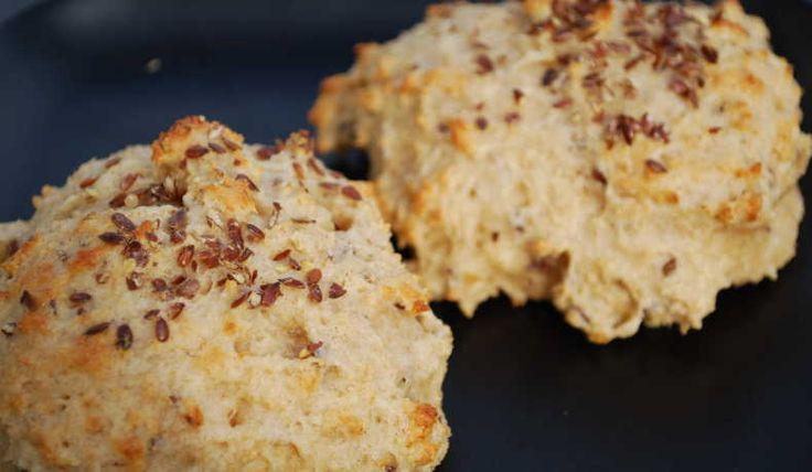 Frukostbröd med dinkelmjöl - Tingeling - Recept