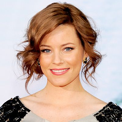 buns hair styles elizabeth banks s changing looks wedding updo low buns 3425