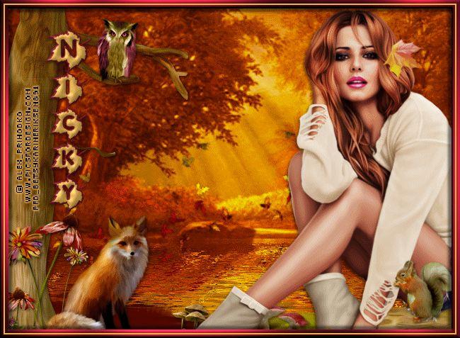 Betsy's Paradise Dreamer: Autumn-Alex-P-Early-Fall