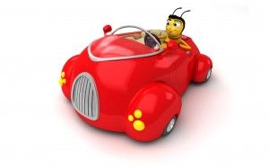 Bee Movie Car Wallpaper