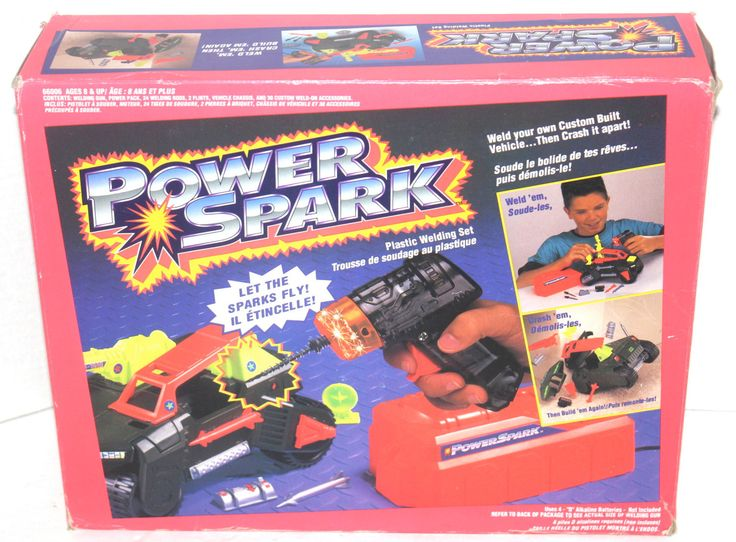 RARE Vintage 1994 Kenner Power Spark Plastic Welding Set, Antique Alchemy