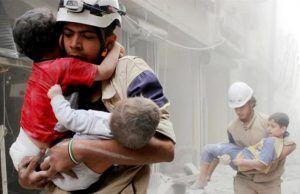 Kasihan 8 Anak Ditembak Mati Pemberontak di Aleppo