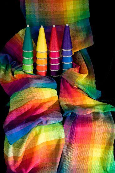 rainbow weaving
