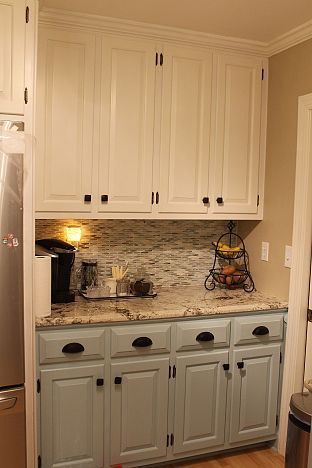 Two Tone Painted Kitchen Cabinet Ideas Glamorous Best 25 Two Tone Kitchen Cabinets Ideas On Pinterest  Two Tone Design Decoration