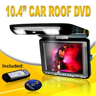 """10"""" DVD Player In Car Roof Mount Flip down Monitor"""