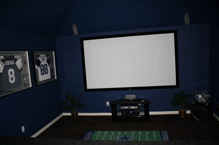 Dallas Cowboys Theme Room Dallas Cowboys Themed Media