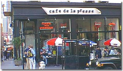 DISCOVER FRANCE IN SAN FRANCISCO  Walk along Bush Street,the closest thing to the French quarter.  Stop by Cafe de la Presse for authenic French cuisine or walk around the corner down a tiny alley (Claude Lane) to Cafe Claude.  Also nearby is Cafe Bastille. One block over on Sutter you will find fashion boutiques and art galleries between French brasseries, and news stands with the daily edition of Le Monde.