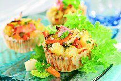 Muffinki warzywne