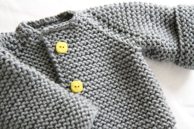The Raglan Crew Neck Cardigan by Granny knits *Free Pattern.