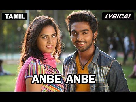 ANBE ANBE- DARLING FULL VIDEO SONG- G.V PRAKASH KUMAR - YouTube