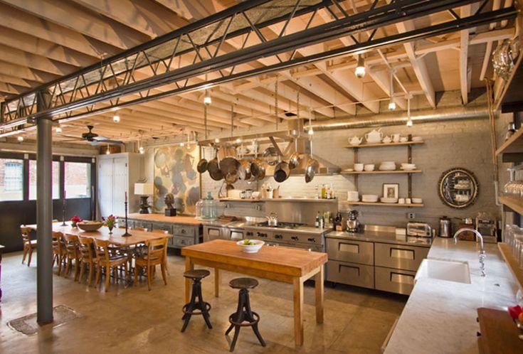 Cucina Stile Industriale 18