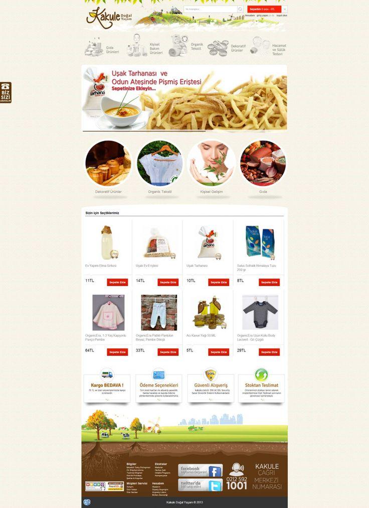 http://www.gustobilisim.com.tr/referanslar Firma: Kakule Proje: Web Tasarım & Yazılımı