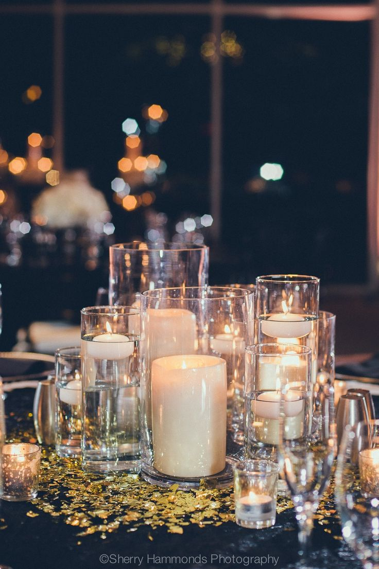 Best images about candle submerged centerpieces on