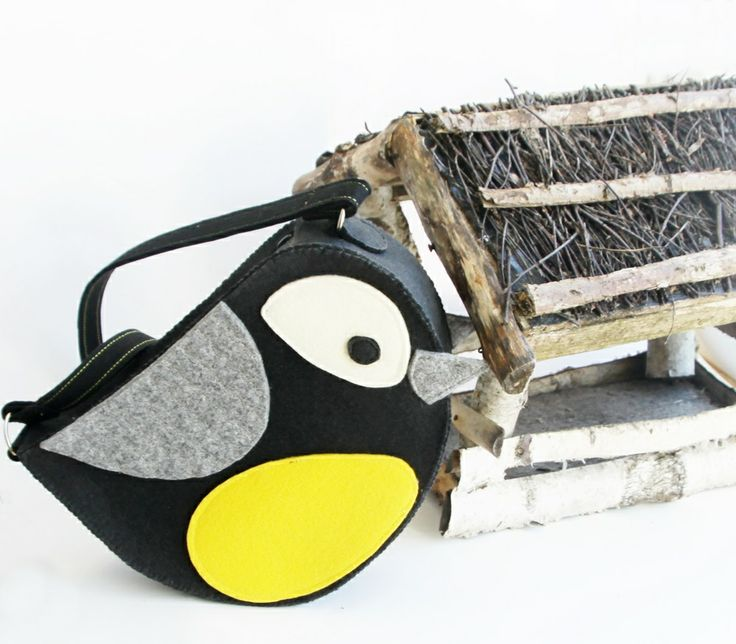 hungry bird - bag for a little girl