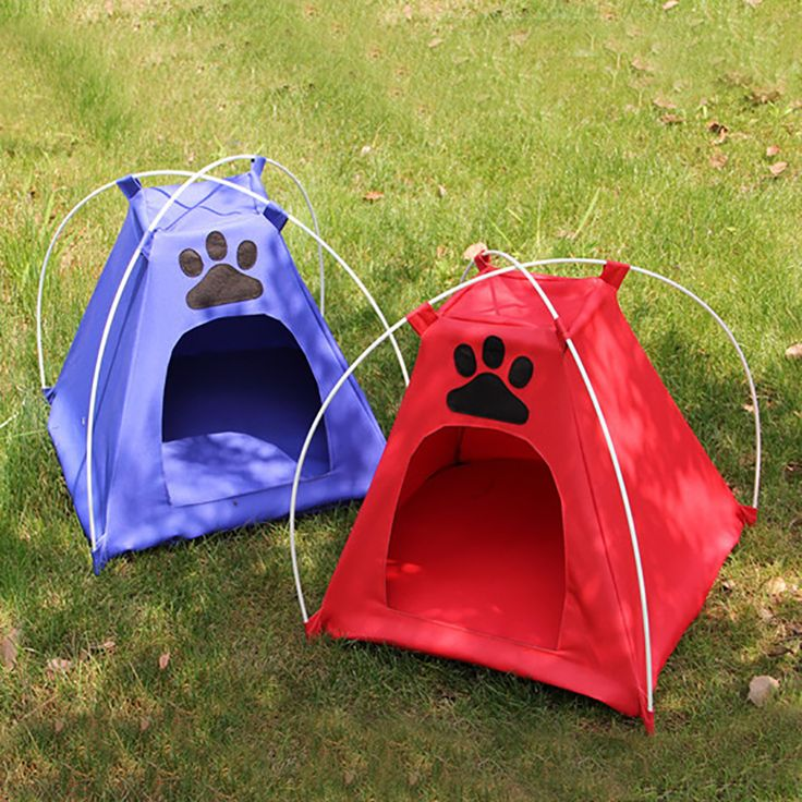 Pliable chiens chats tente maison animaux mode tipi Camping en plein air accueil voyage maison(China (Mainland))