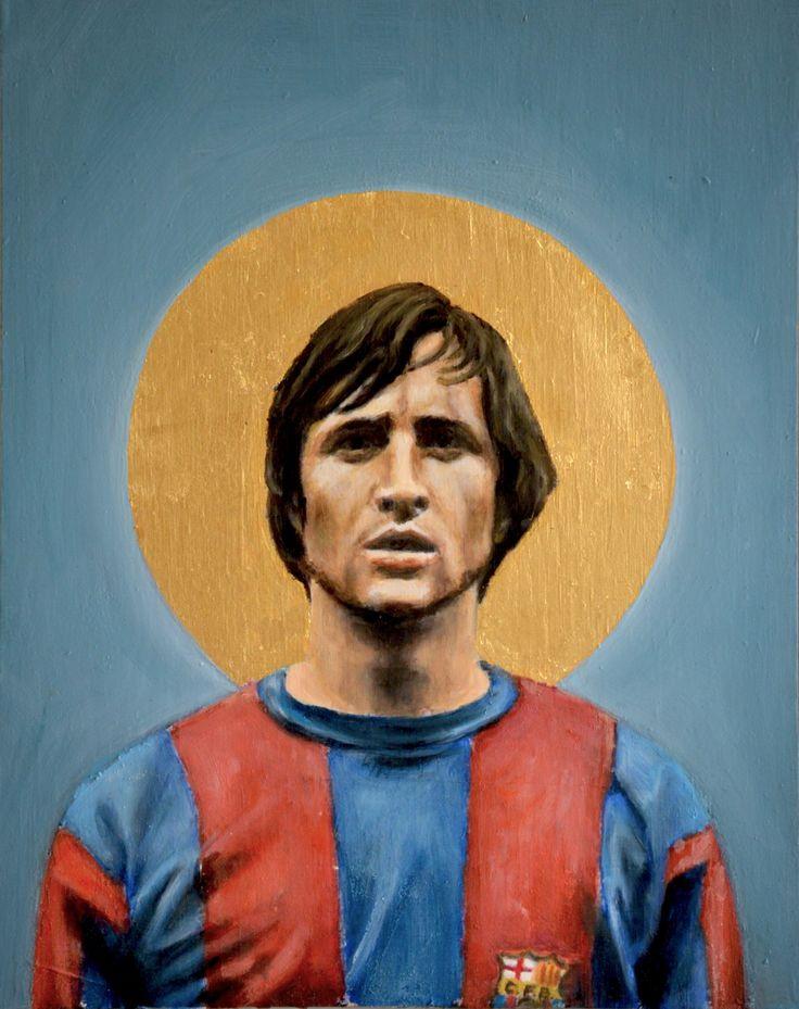 +++ Cruyff +++ A Football Report - Football Icons, by David Diehl