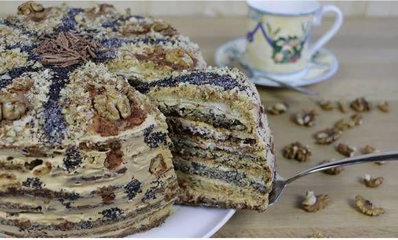 Különleges mákos torta