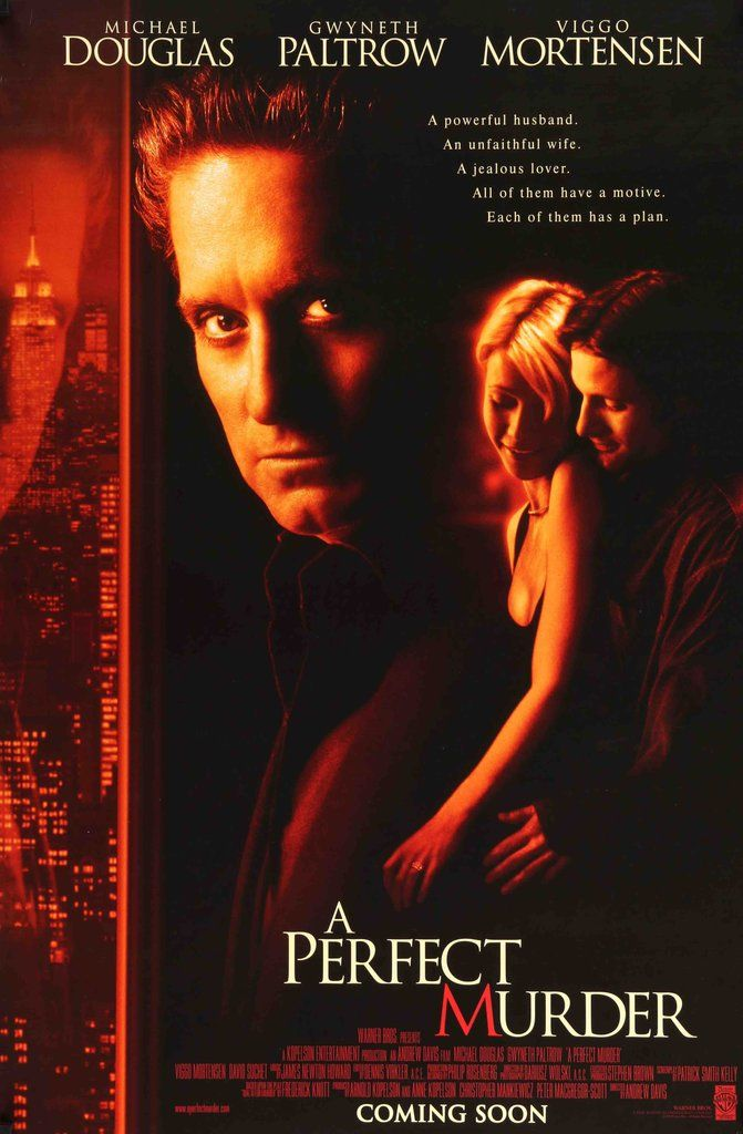 A Perfect Murder (1998) Original Movie Poster