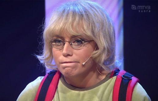 """Oot patsku valomiekassa."" Jani-Petteri: Vanessa."