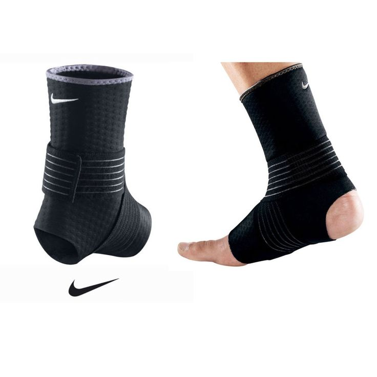 NEW NIKE BREATHABLE ANKLE SUPPORT WRAP SPORTS INJURY ANKLE BRACE SUPPORTS