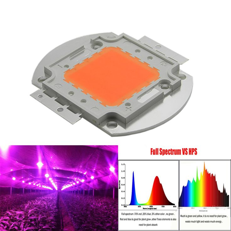 1 개 100 와트 led 성장 빛 칩 60 개 x 3 와트 bridgelux의 전체 스펙트럼 380-840nm led 성장 빛 배열 실내 diy 성장 블룸