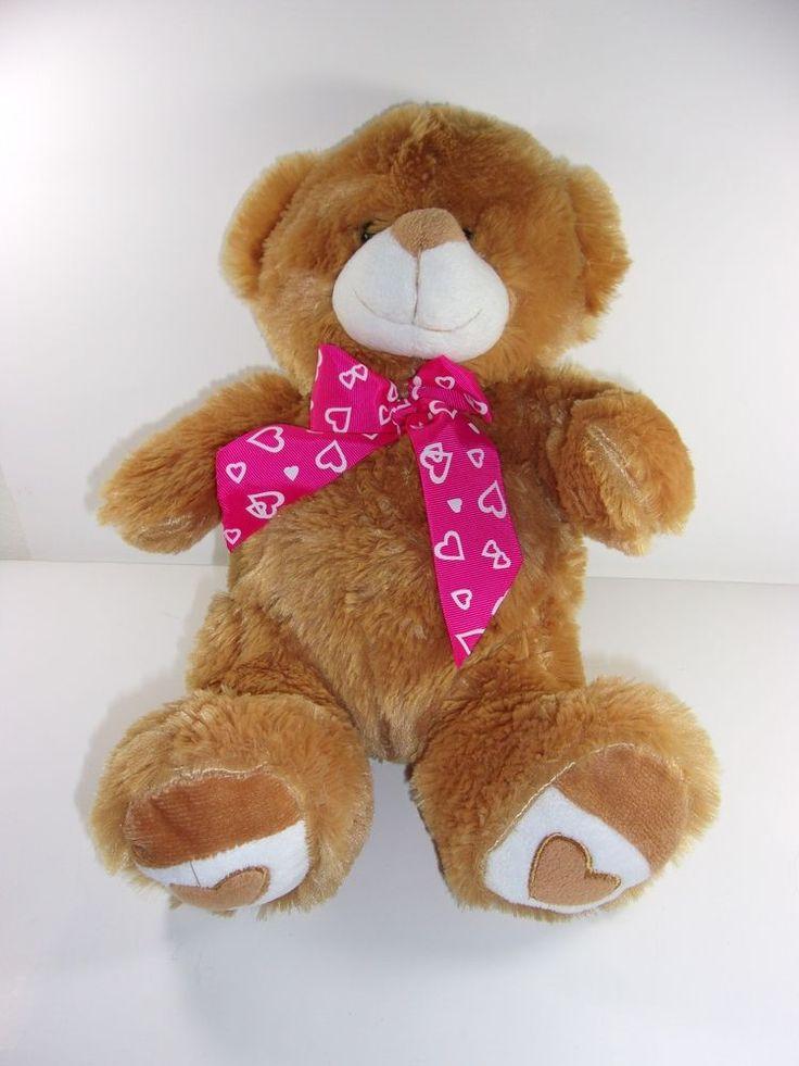 Best Made Toys International Inc Valentines Teddy Bear Plush 16 Inch   Valentines  Bears