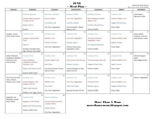 The 25+ best Monthly menu planner ideas on Pinterest Menu - menu planner templates
