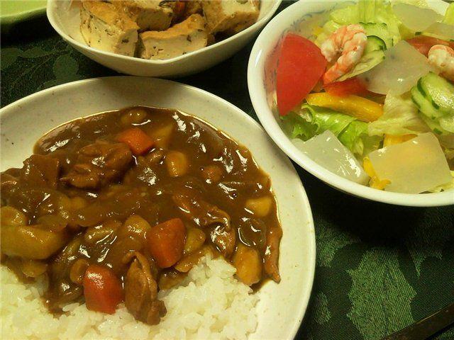Карэ-райсу - рис с соусом карри