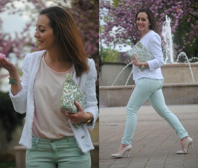 Cómo combinar pantalones blanco - Trendtation