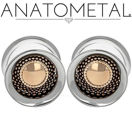"3/4"" Standard Eyelets in ASTM F-138 stainless steel with Bronze Hera Inserts"