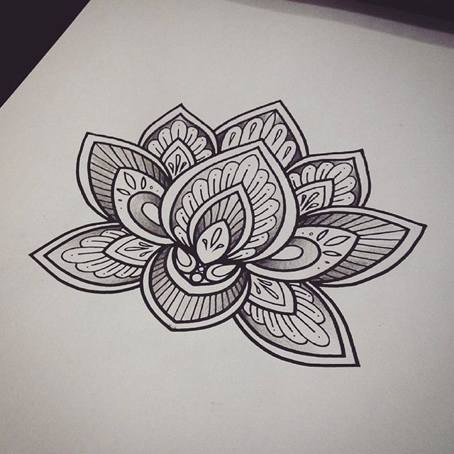 35 best lotus tattoo images on pinterest mandala tattoo