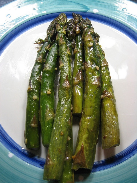 Asparagus and Garlic: Olives Oil, Baking Asparagus, Side Recipe, Baked Asparagus, Fresh Asparagus, Food Entrees