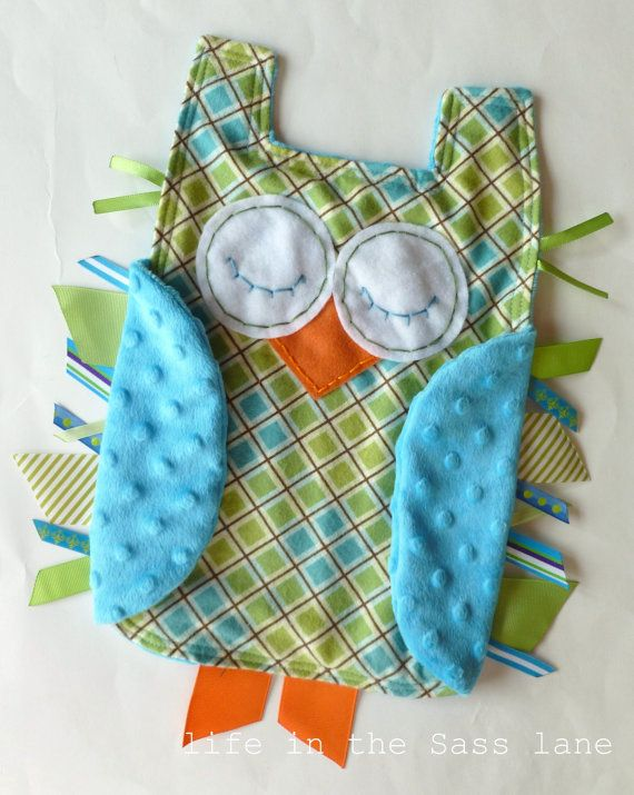 Week 1 Inspiration - Owl taggie :)