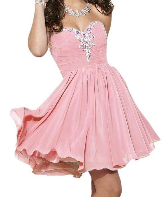 Hd08191 Charming Homecoming Dress,Chiffon Homecoming Dress,Sweetheart Homecoming Dress, Short Noble Homecoming Dress