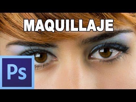 Maquillaje digital con photoshop - Tutorial Photoshop en Español (HD)