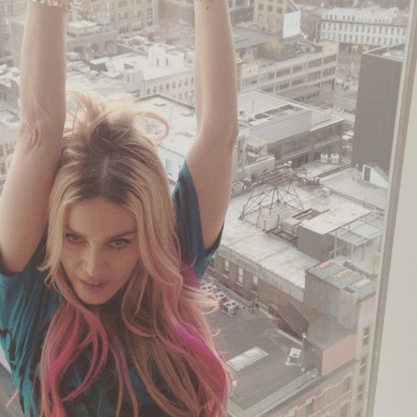 Madonna Dyes Her Hair Pink, Rita Ora Gets Long Braids—See the Latest Celeb Hair Changes!  Madonna, Hair, Instagram