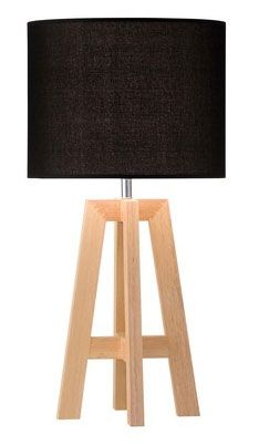 Chase Table Lamp  With a black hessian shade and ash timber frame, the Chase lamp is a stylish lighting choice for your interior.  #lamp #tablelamp #scandi #myhah #makeyourhouseahome #interiordesign #style
